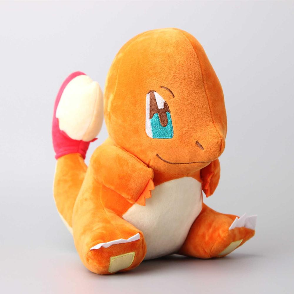 Japanese Cartoon Charmander Plush Doll Toy Red Dragon Soft Toys Stuffed Dolls Kids Gift 12 30 CM 30cm mickey mouse and minnie mouse toys soft toy stuffed animals plush toy dolls