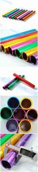 20pcs ebaton pass track and field match Anodized aluminum 3.8cm standard adult athletics relay baton running match baton