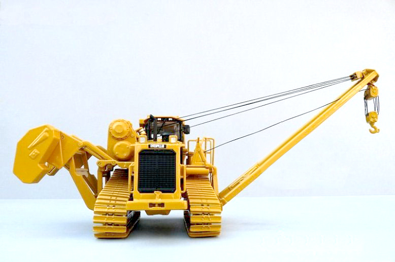 Norscot 1:50 CAT 587T PIPELAYER Alloy pipe laying hoisting machine model 55272 Favorites Engineering equipment model