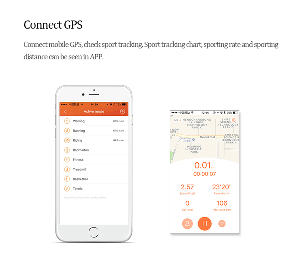 Teamyo Sport Smart Bracelet Activity tracker Cicret bracelet GPS fitness tracker Heart Rate Monitor cardiaco Smart wristband 6