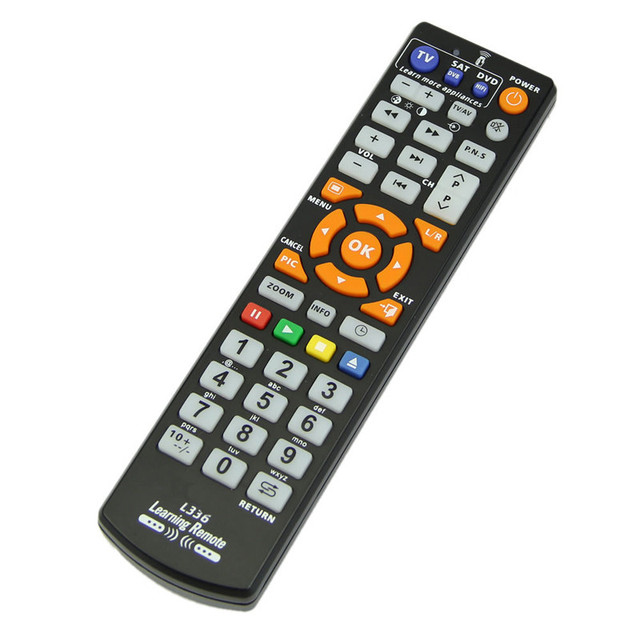 2017 Nowy Uniwersalny Pilot Z Funkcją Dowiedz Się Wysokiej Jakości Zamiennik Pilota Nadaje Się Do Smart TV DVD SAT