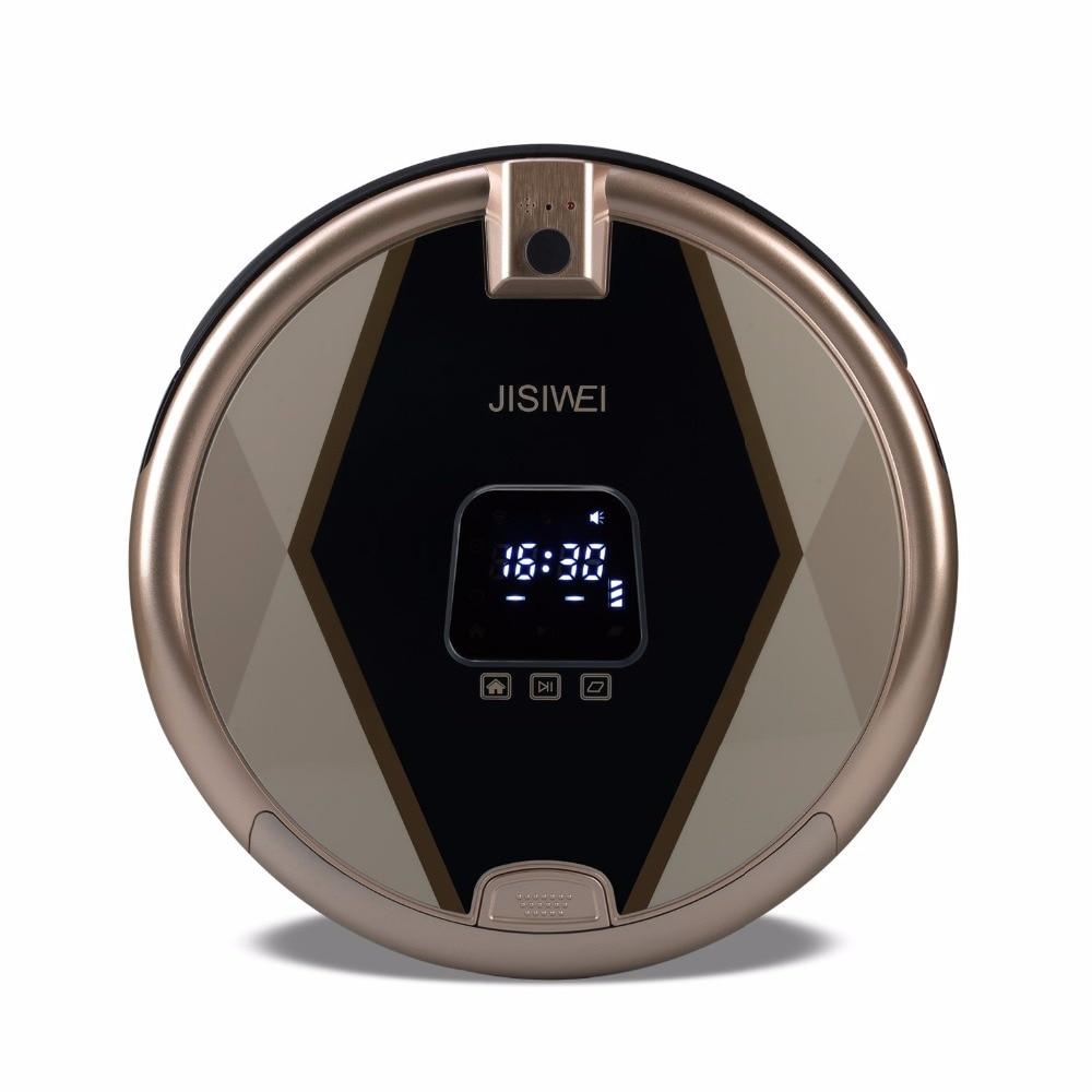 newest jisiwei s smart robot vacuum cleaner tpu avoidance sensor remote mobile app control hd - Robot Mop