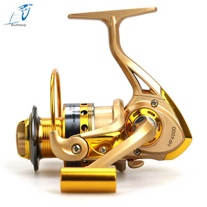 10 Bearing Fishing Reel/Front Drag Spinning Wheel Carp Fishing Tackle Metal Material Hot Sale HF1000~7000