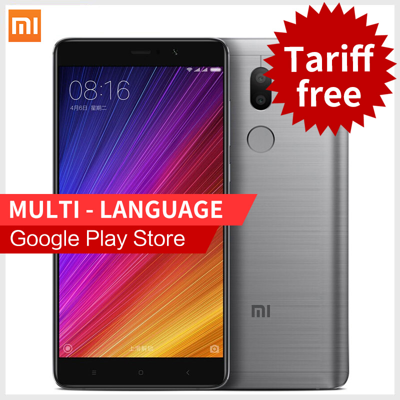 Earphone Free Gift!Original Xiaomi Mi5s Plus 4GB RAM 64GB ROM smartphone 5.7'' Snapdragon 821 Mi 5s Plus Phones
