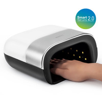 SUN3 2.0 Smart 48W UV LED Lamp with Timer Memory Invisible Digital Timer Display Nail Drying Machine gel lamp