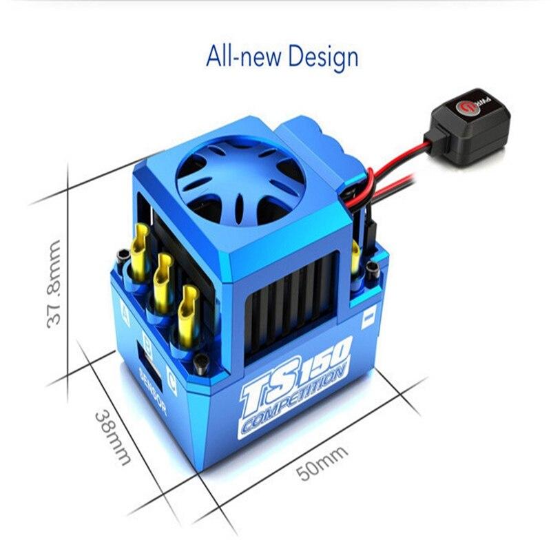 SKYRC TORO TS150A 1/8 автомобиль бесщеточный Сенсорный электронный регулятор хода Поддержка Bluetooth для Rc Автомобили Запчасти