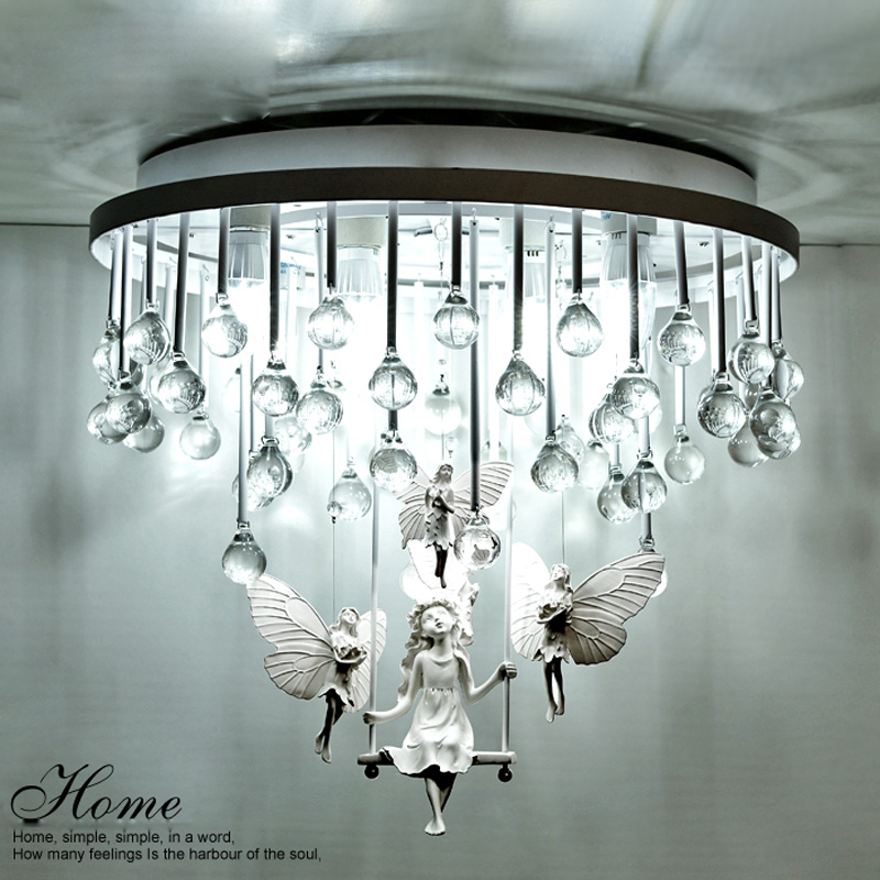 style crystal ceiling light simple atmosphere bedroom warm living room dining room balcony living room lighting modern crystal chandelier hanging lighting birdcage chandeliers light for living room bedroom dining room restaurant decoration