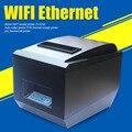Обновление оптовая 3 ''WI-FI Ethernet интерфейс Авто-резак принтер POS тепловая чековый принтер ZJ-8250 pos тепловой билл принтера