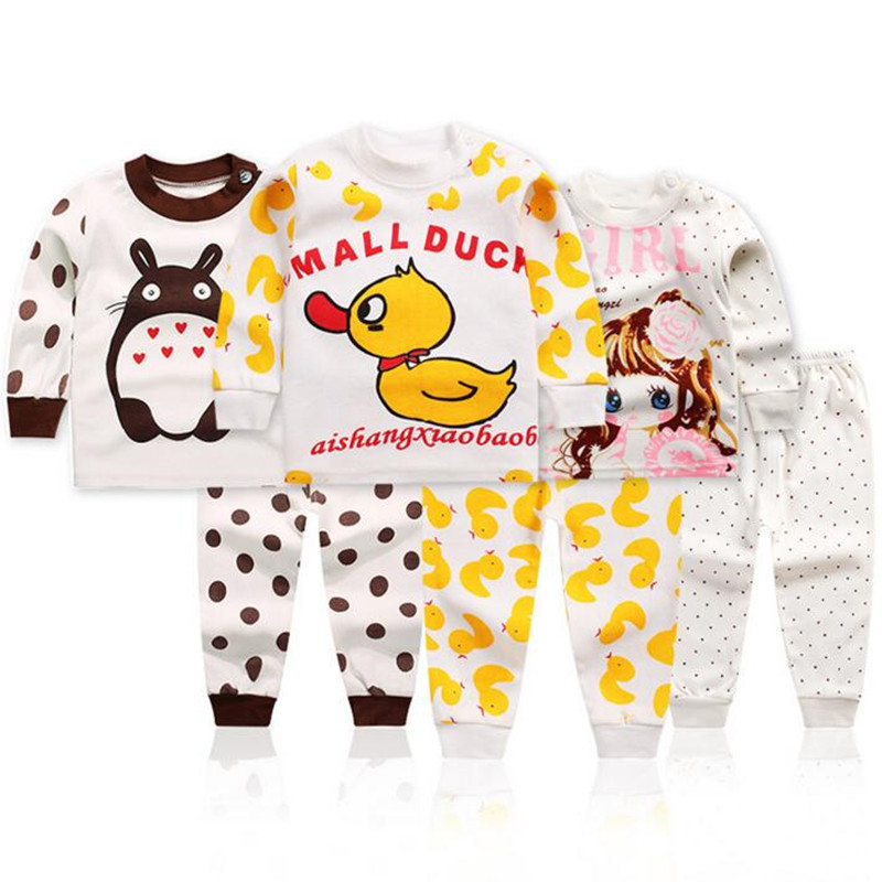 a21de2e06393 Spring Boys Girls Clothes Set Long Sleeve Cotton Suit for Baby Boys New  Outfits Tracksuit for Girls Clothing Costume Kids Sets