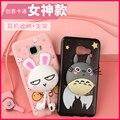 Милый кролик Шиншилла с веревкой держатель 3D мягкий гель ТПУ кремния cover case Для Samsung Galaxy A9 A9000 A9100 (A9 Pro)