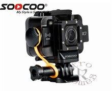 SOOCOO S80 20 m Build-in WI-FI Câmera de Ação À Prova D' Água esporte cam 1080 p VideoStarlight Night Vision apoio externo mic