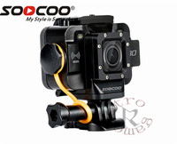 SOOCOO S80 Action Camera Waterproof 20m Build in WIFI sport cam 1080P VideoStarlight Night Vision support external mic
