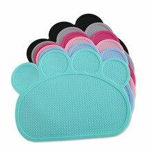 Waterproof Pet Mat for Dog Cat Silicone Pet Food Pad Pet Bowl Drinking Mat Dog Feeding