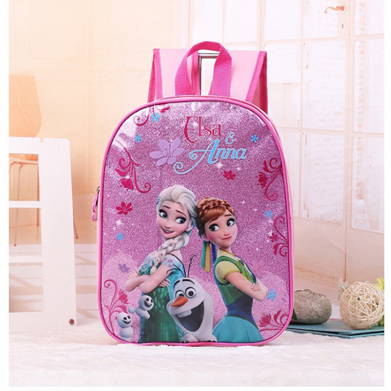 New kids cartoon Elsa Anna schoolbag girls princess cute school bag sofia Spider-Man Kindergarten backpacks new fashion cartoon backpacks for teenagers girls sofia princess backpack kids school bags cute bag child mochila
