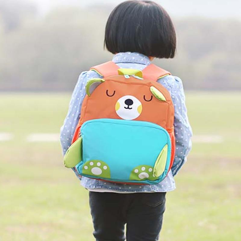 Crianças dos Desenhos 3d Backpack Alunos Schoolbag Bonito