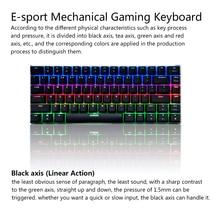 AJAZZ AK33 Mechanical Keyboard RGB Gaming Keyboards 82 Keys Blue/Black Switches Anti-Ghosting for overwatch PTUG LOL DOTA 2 csgo