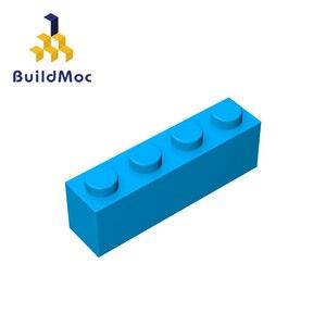 Image 1 - Buildmoc互換アセンブル粒子レンガ3010 1 × 4ビルディングブロックの部品diyロゴ教育創造ギフトのおもちゃ