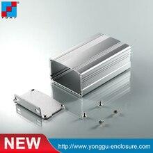 custom anodizing profil aluminium extrusion factory YGK-006 63*37-95 mm (WxH-L)