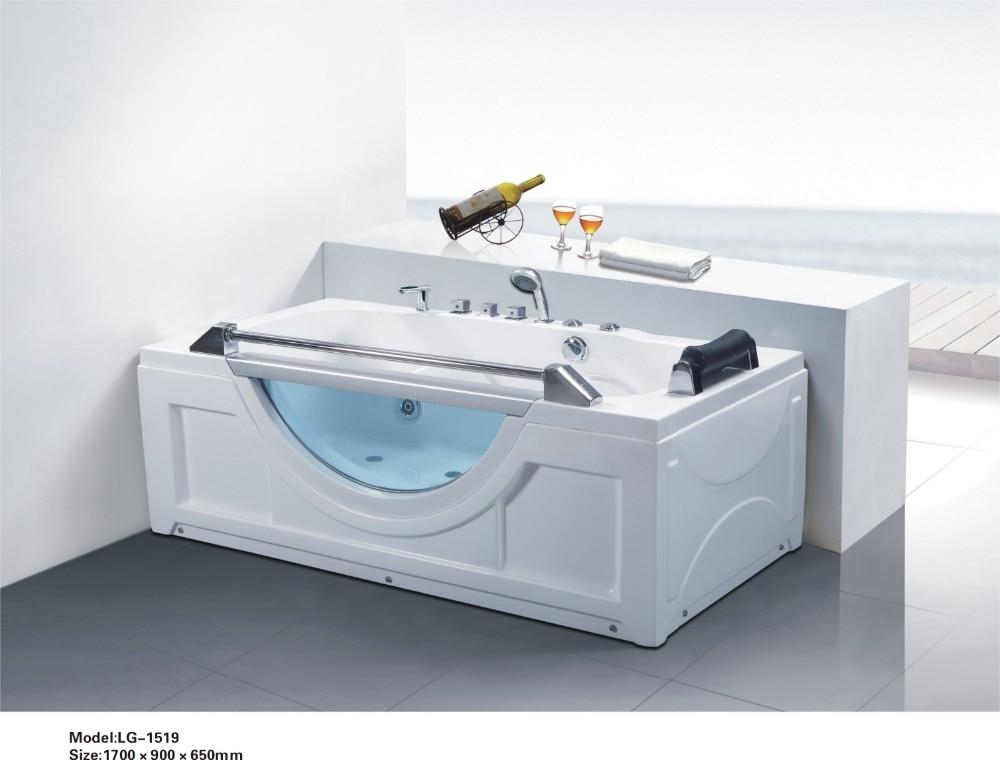 online kaufen gro handel glas badewanne aus china glas. Black Bedroom Furniture Sets. Home Design Ideas