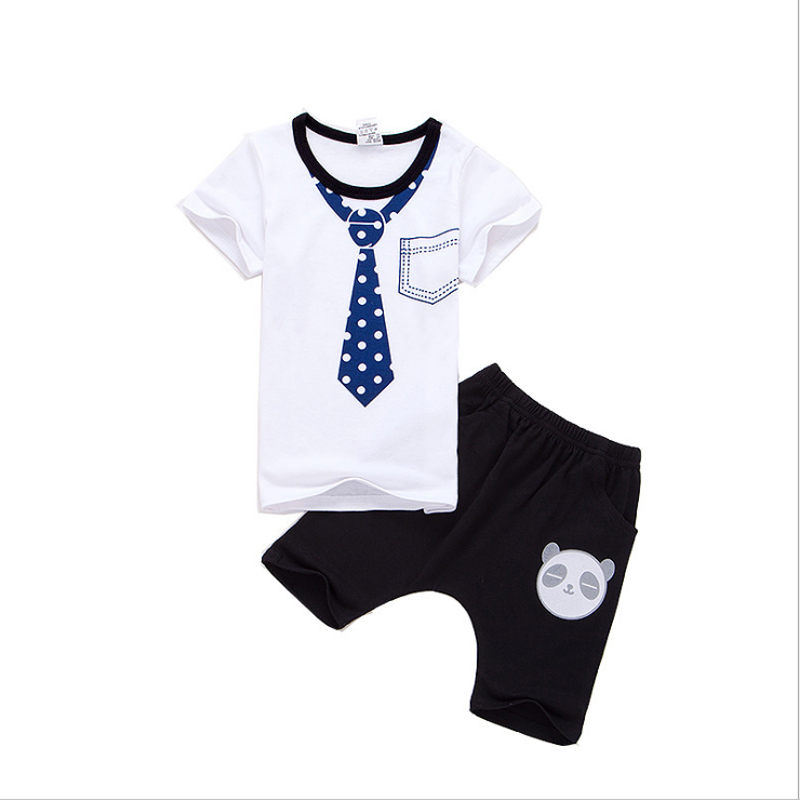 2019 boys women summer season fits T-shirts youngsters necktie sample Tees+cartoon panda pants youngsters style clothes units Aliexpress, Aliexpress.com, On-line purchasing, Automotive, Telephones & Equipment, Computer systems & Electronics,...