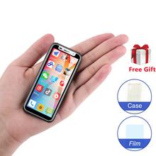 Smallest 4G smartphone Melrose 2019 Super mini telefon 3.4Inch MT6739V 1GB 8GB Android 8.1 Dual SIM Card mobile phone PK S9 Plus