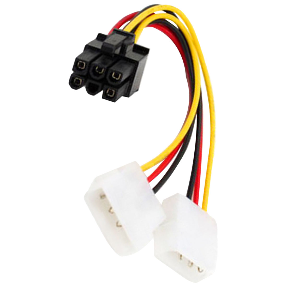 New Arrival Graphics Card Power Cable Dual 4PIN To 6PIN 6P To 4P Adapter Cable Computer Graphics Card Power Cable