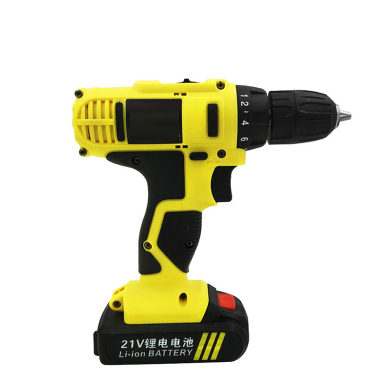 16.8V Cordless Battery Drill Electric Drill Screwdriver Power Tools Carbon Mini Drill Double Speed Lithium Plastic box