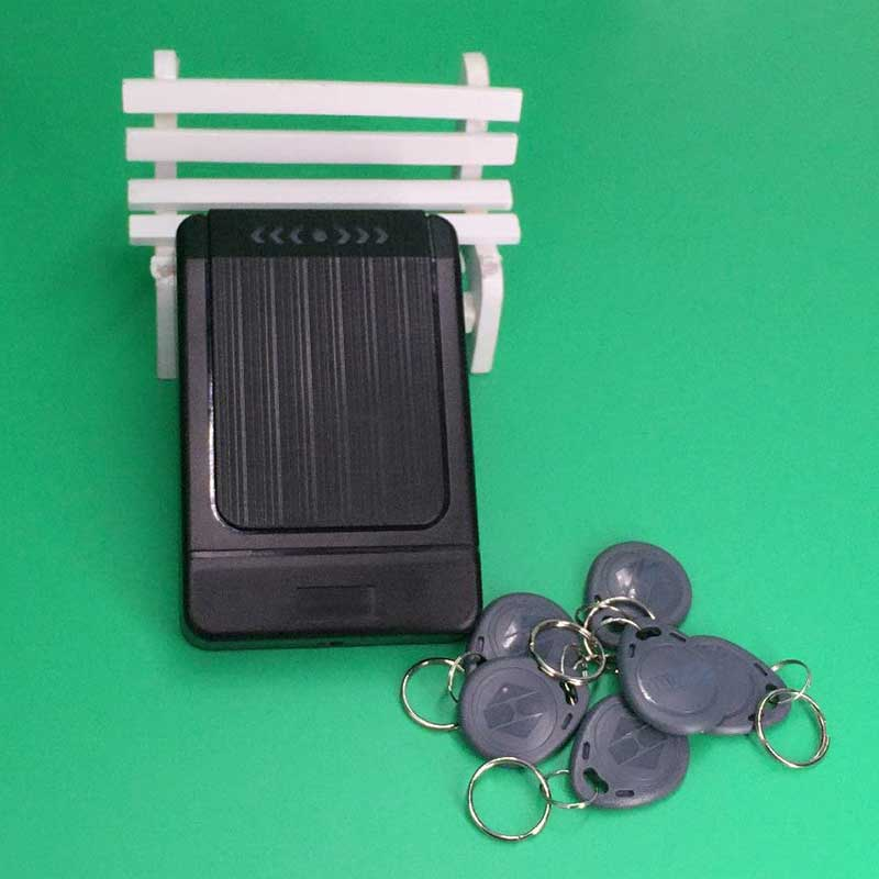 Door Security Access Control System 125KHZ RFID Card Access Control Waterproof Outdoor Opener Rfid Card Access waterproof door security access control system 125khz rfid card access control outdoor opener with rain cover 10 piece keyfobs