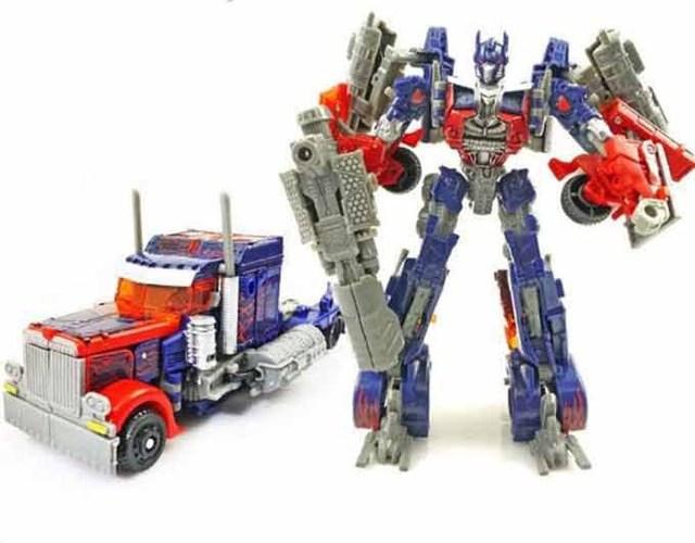 Sem carros Brinquedos robôs de transformação 4 Optimus Prime Bumblebee figuras de ação clássicos Brinquedos para meninos presentes juguetes