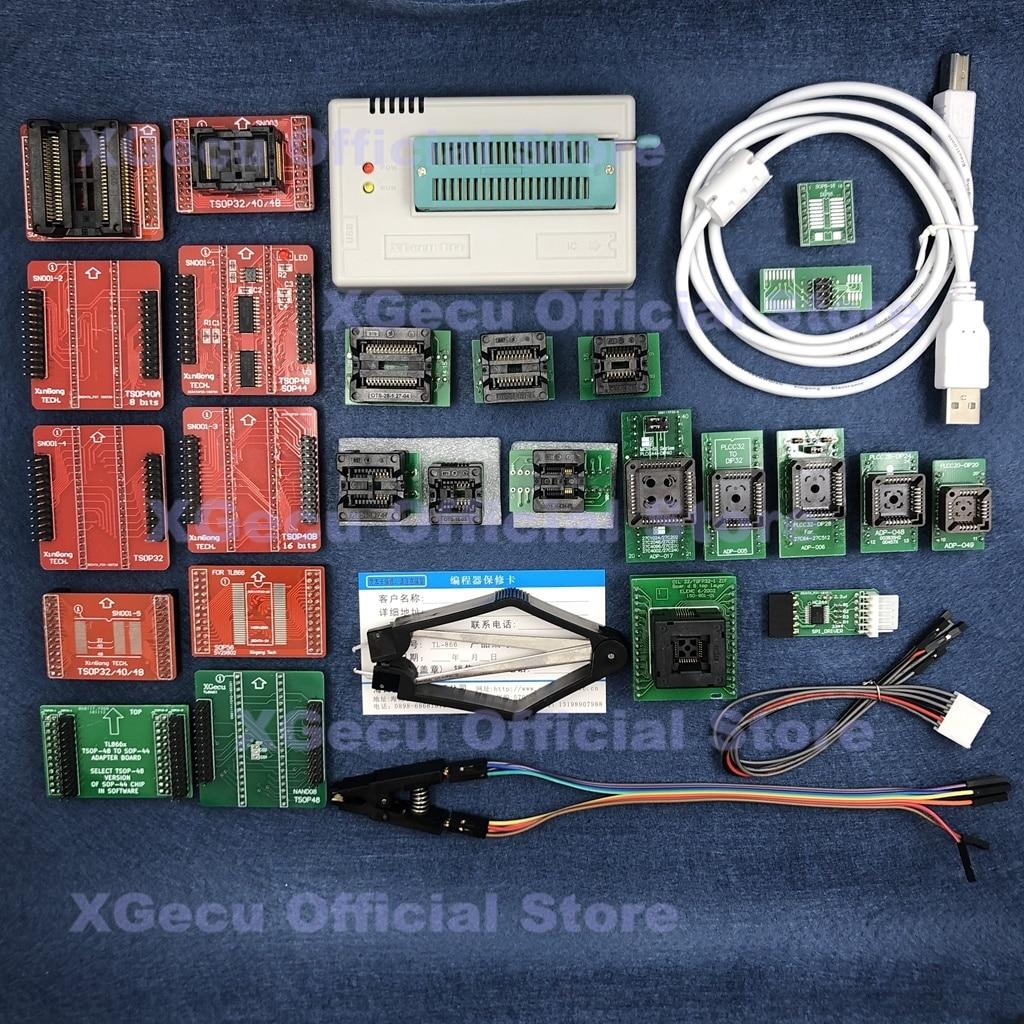 V8.51 XGecu TL866II プラス Usb ユニバーサルプログラマのサポート 15000 + IC SPI フラッシュ NAND EEPROM MCU 交換 TL866A TL866CS + 26 部品  グループ上の パソコン & オフィス からの 電卓 の中 1