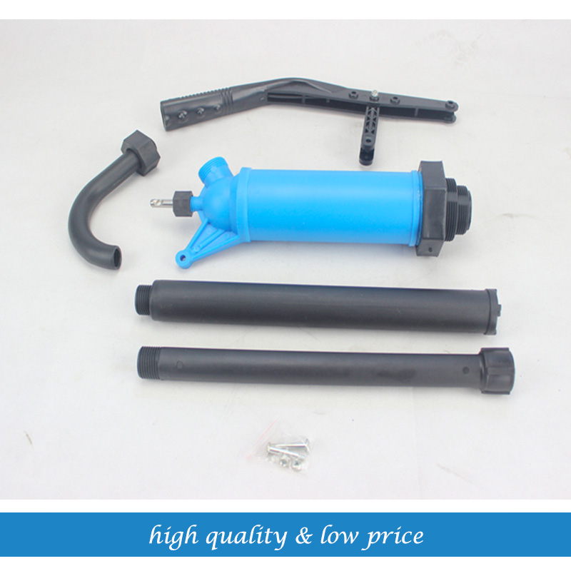 Blue PP Material 200L Oil Drum Special type Hand pump Alcohol Pump