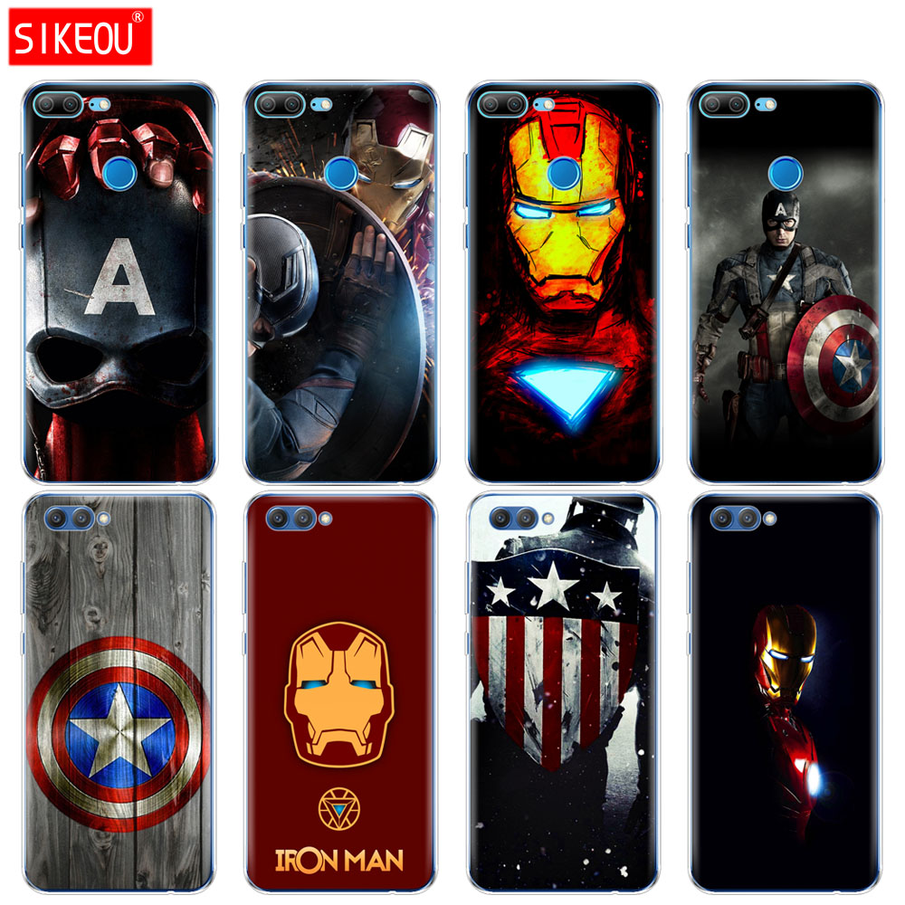 silicone-cover-phone-case-for-huawei-honor-10-v10-3c-4c-5c-5x-4a-6a-6c-pro-6x-7x-6-7-8-9-lite-font-b-avengers-b-font-iron-man-captain-america