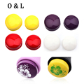 2pcs New Marshmallow Squishy Silicone Nail Stamper Head Stamping Refill for Nail Template Tools