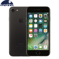 Original Unlocked Apple IPhone 7 4G LTE Mobile Phone 2G RAM 256GB 128GB 32GB ROM Quad