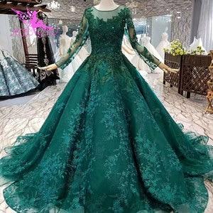 Image 4 - AIJINGYU luksusowe sukienki z klejnotami sklep suknie na ślub muzułmańska federacja rosyjska zwykły więcej suknia ślubna zaręczynowa tajwan