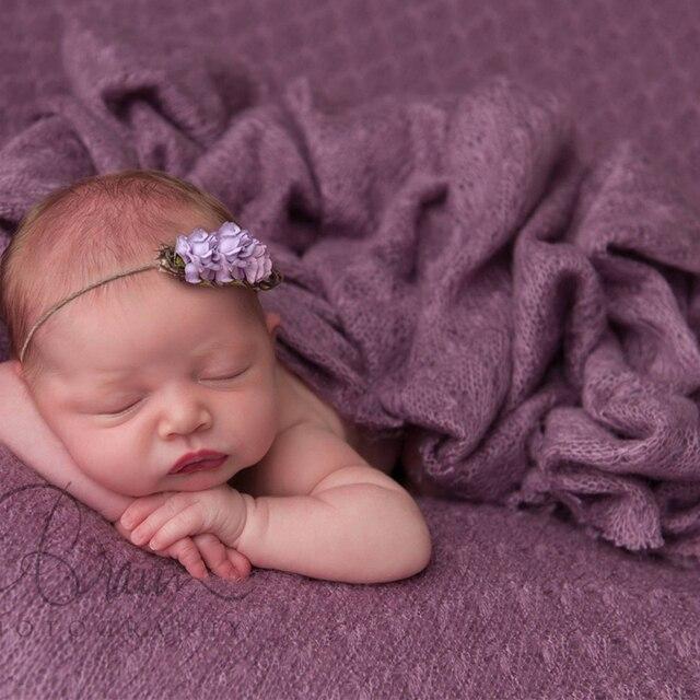 150180cm baby posing mohair wraps blankets paddy newborn photography props filler bebe fotos de