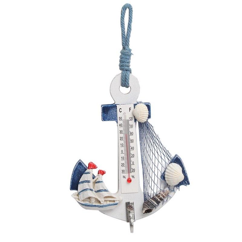 Mediterranean Style Handicrafts Wood Anchor