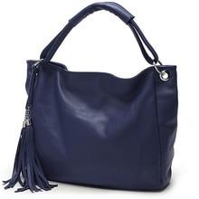 Women Tassel Messenger Bag Vintage Leather ladies Shoulder Bags Bucket Handbags Sac Femme Canta Bolsas Femininas Dollar Price