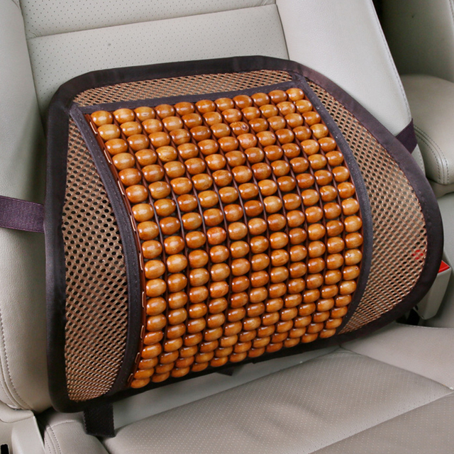 Universal Car Back Seat Lumbar Support For Office Chair Cushion