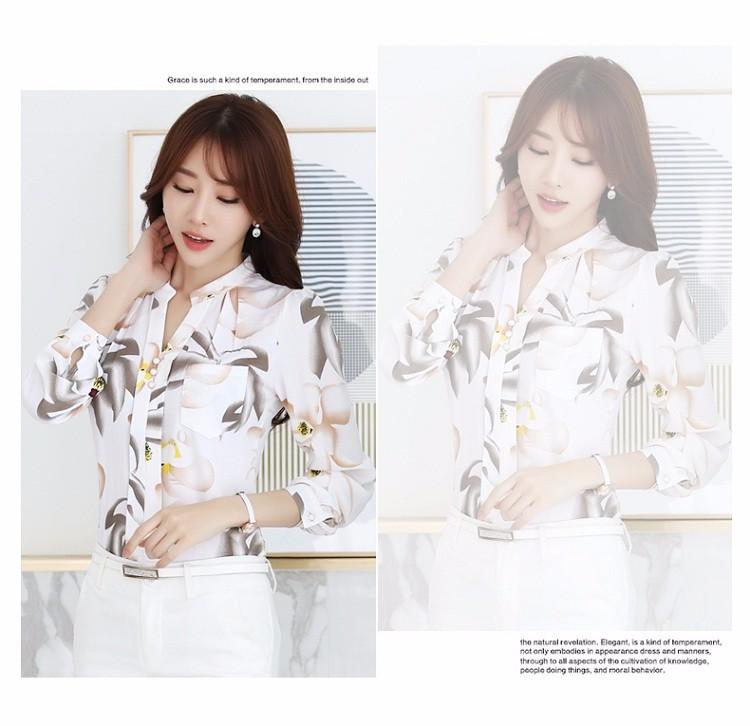 HTB1bc0FNVXXXXcdXVXXq6xXFXXXP - Autumn Fashion Blouse Office Work Wear shirts Women Tops