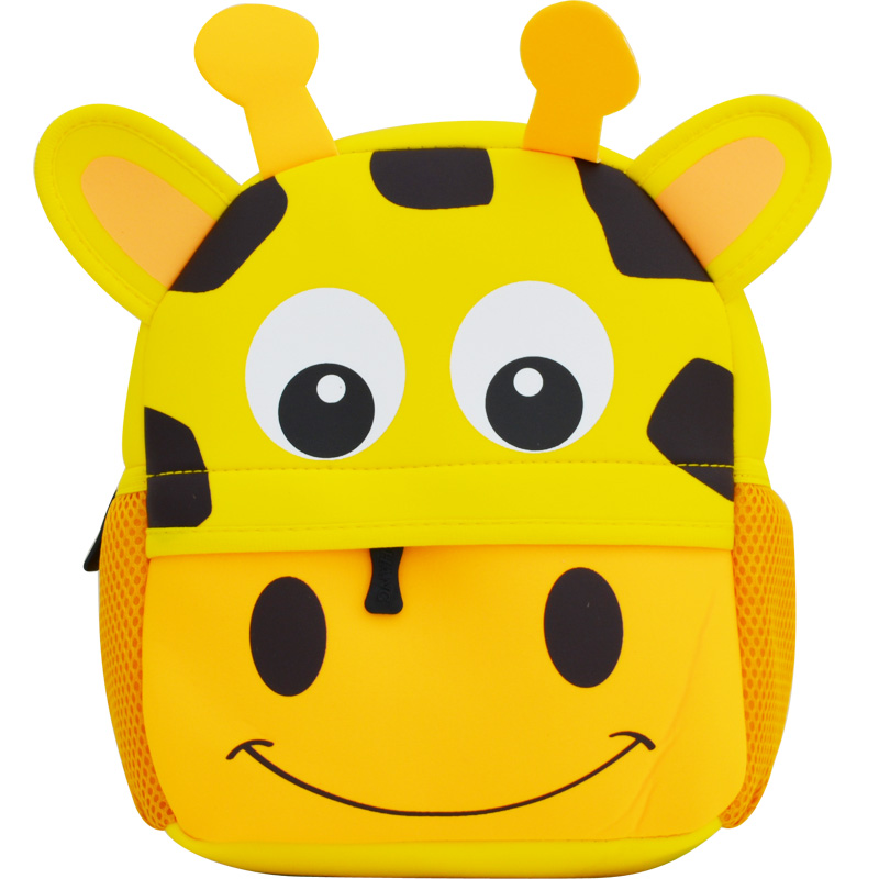 Unisex 3D Cute Animal Prints Backpack Children School Bags Boys And Girls Cartoon Shaped Schoolbag Baby Kids Bag