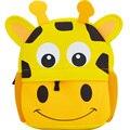 Unisex 3D Nette Tier Drucke Rucksack kinder Schule Taschen Jungen und Mädchen Cartoon Förmigen schul baby kinder tasche-in Schultaschen aus Gepäck & Taschen bei
