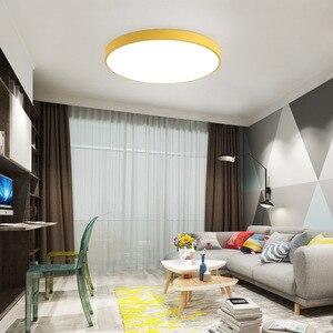 Image 3 - LED Ceiling Light Modern ceiling Lamp Living Room Lighting Fixture Bedroom Kitchen Remote Control ZXD0002