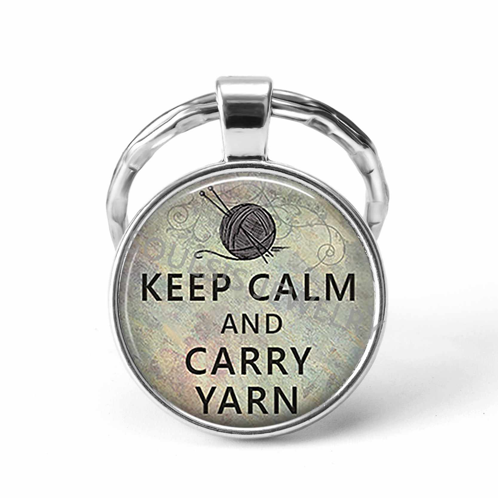 Keep Calm and Love Dogs/Cats Funny Quote Car Key Chains Key Rings Cat and  Dog Lover Gift