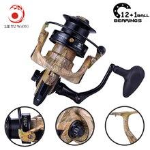 Lieyuwang 10000 13BB 4.1:1 Fishing Reel Feeder trolls Feeder Metal Body Carp Spinning Reels Carretilhas pesca molinete Shimano