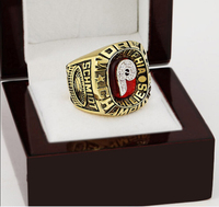 1980 PHILADELPHIA PHILLIES MLB World Series Championship Ring 10 13 Size With Cherry Wooden Case As