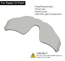 SmartVLT מקוטב משקפי שמש החלפת עדשות עבור אוקלי רדאר EV נתיב גריי Photochromic