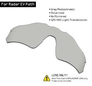 Image 1 - Smartvlt Gepolariseerde Zonnebril Vervanging Lenzen Voor Oakley Radar Ev Path Grijs Meekleurende