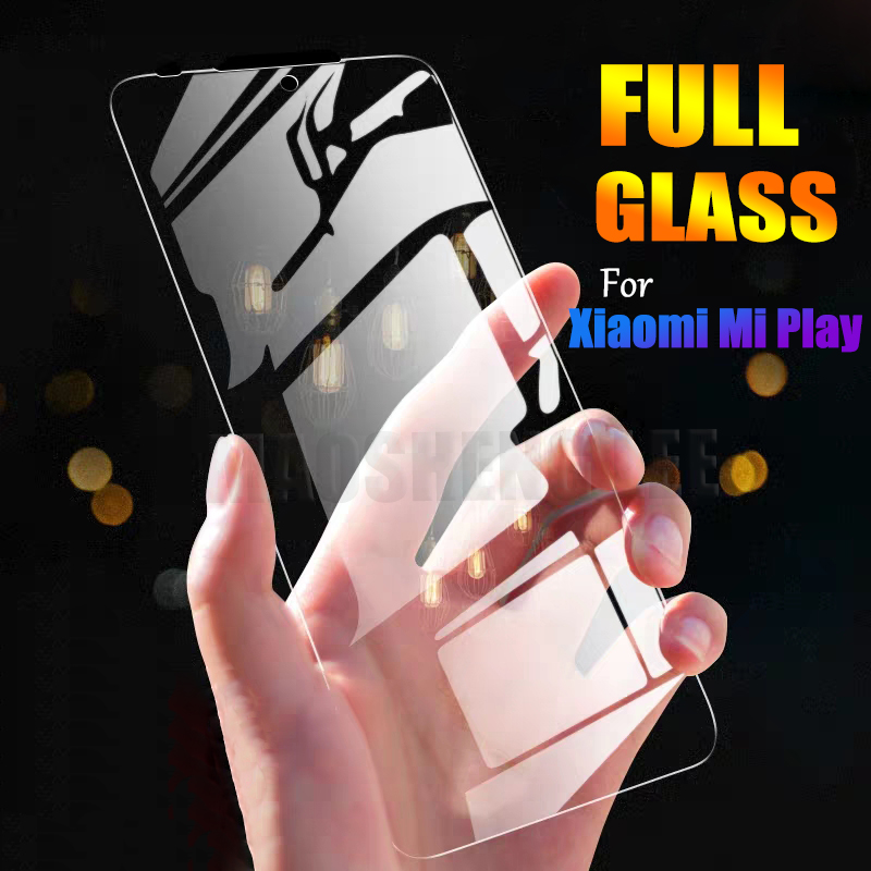 2Pcs/lot Tempered Glass For Xiaomi Mi Play Screen Protector Anti Blu-ray Glass For Xiaomi Mi Play Tempered Glass Protective Film