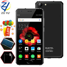 "K4000 OUKITEL MTK6737 5.0 6.0 Android Smartphone Plus ""HD Quad Core 2 Gram + 16 Grams 8.0 MP 720 P obile 4100 mAh Fingerprint Mo"